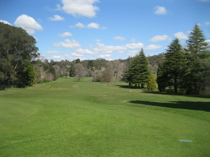 The second hole at Craigieburn