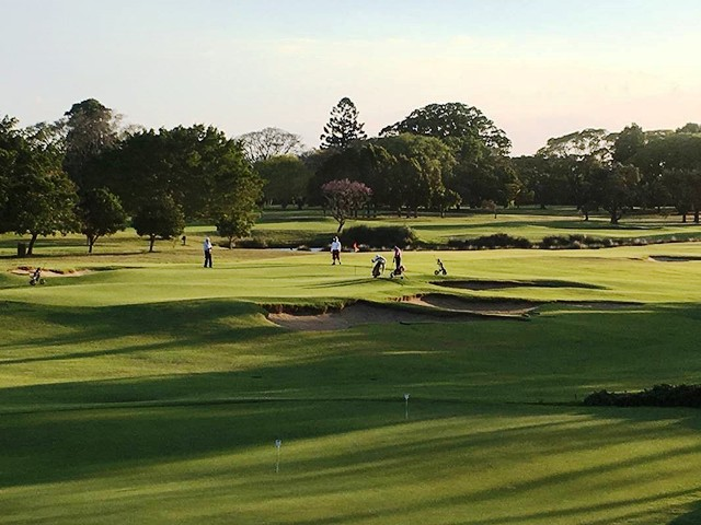 Royal Queensland 18th Green
